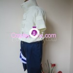 Neji Hyuga from Naruto Cosplay Costume side