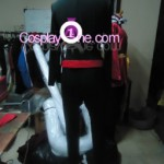 Batwoman Cosplay Costume back prog