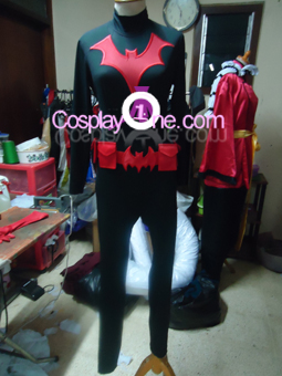 Batwoman Cosplay Costume front prog