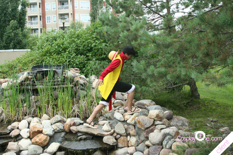 Best monkey luffy cosplay  Pose