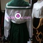 Kagome Higurashi from Inuyasha Cosplay Costume back prog