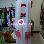 Kyubey from Puella Magi Madoka Magica Cosplay Costume back prog