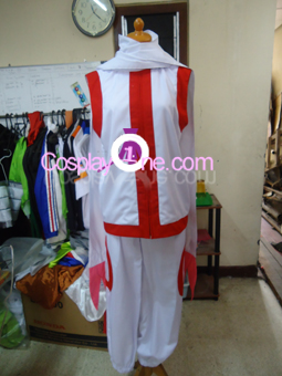 Kyubey from Puella Magi Madoka Magica Cosplay Costume front in prog
