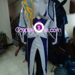 Lucian The Purifier from (League of Legends) Cosplay Costume back prog