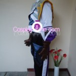 Lucian The Purifier from (League of Legends) Cosplay Costume side