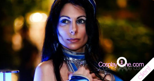 Mortal Kombat Cosplay Kitana and Sub