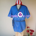 Ashitaka Cosplay Costume front