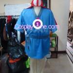 Ashitaka Cosplay Costume front prog