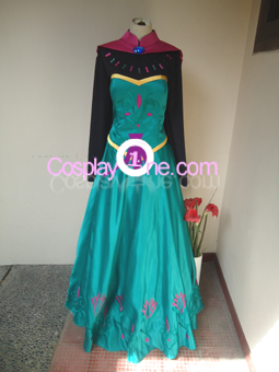 Elsa Coronation Drees front Cosplay Costume