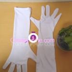 Elsa Coronation Drees glove Cosplay Costume