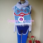 Sheik from The Legend Of Zelda Ocarina of Time Cosplay Costume front 2