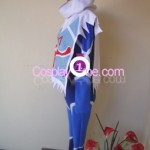 Sheik from The Legend Of Zelda Ocarina of Time Cosplay Costume side