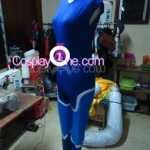 Sheik from The Legend Of Zelda Ocarina of Time Cosplay Costume side prog