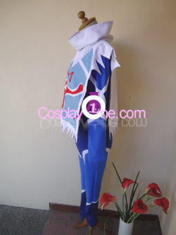 Sheik from The Legend Of Zelda Ocarina of Time Cosplay Costume side : legend of zelda sheik costume  - Germanpascual.Com