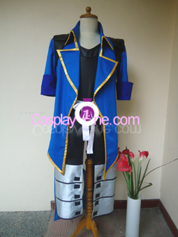 Date Masamune One Eye Dragon Cosplay Costume front