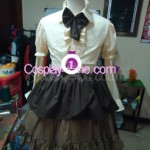 SNK Lolita Uniform front in 2 prog Cosplay Costume