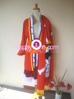 Monkey D Luffy (One Piece) Cosplay Costume front