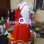 Sakura from Card Captor Sakura Cosplay Costume side prog
