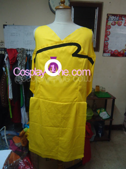 Final Fantasy XIV Monk Cosplay Costume front prog