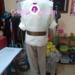 Lester Derosso Cosplay Costume back prog