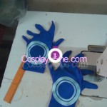 Melone costume from Jojos Buzarre Adventure Cosplay Costume hand glove prog