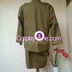 Army Girl Cosplay Costume back