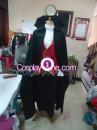 Vampire Cosplay Costume front prog