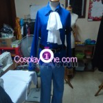 Sabo from One Piece Cosplay Costume front in prog
