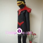 Cyclops from Marvel Comics Cosplay Costume side