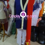 Klein Alo from Sword Art Online Cosplay Costume front prog