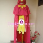 Sakura The Pink Cape Costume from Final Judgement Cosplay Costume front