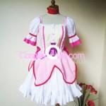 Madoka Kaname from Puella Magi Madoka Magica Cosplay Costume front