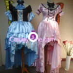 Marudashi (blue) and Morodashi (pink) from xxxHolic Cosplay Costume