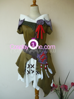 Au Ra from Final Fantasy XIV Cosplay Costume front