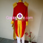 Brigadier Oscar Francois de Jarjayes from The Rose of Versailles Cosplay Costume back