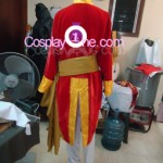 Brigadier Oscar Francois de Jarjayes from The Rose of Versailles Cosplay Costume back prog