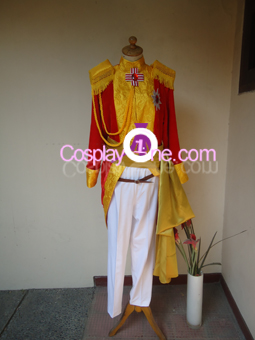 Brigadier Oscar Francois de Jarjayes from The Rose of Versailles Cosplay Costume front