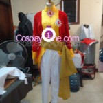Brigadier Oscar Francois de Jarjayes from The Rose of Versailles Cosplay Costume front prog