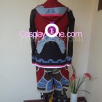 Shulk from Xenoblade Chronicles Cosplay Costume back