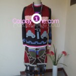 Shulk from Xenoblade Chronicles Cosplay Costume front