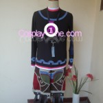 Shulk from Xenoblade Chronicles Cosplay Costume front in