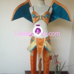Jessica Nigri Charizard from Pokemon Cosplay Costume front