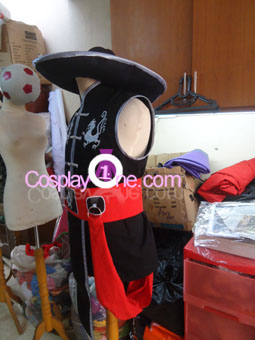 Kung Lao from Mortal Kombat Cosplay Costume side prog