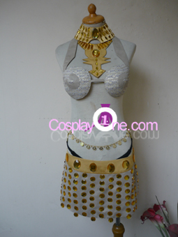 Sexy Egyptian Slave Cosplay Costume front