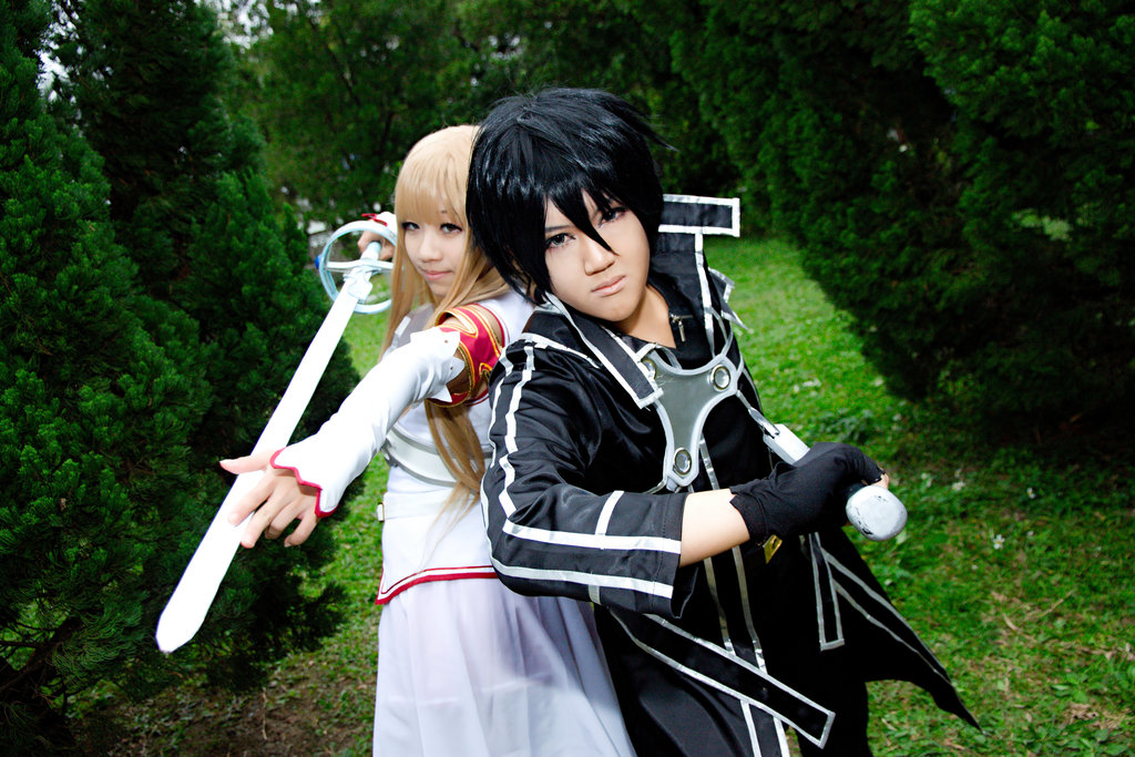 Kirito Cosplay a Japanese Costume
