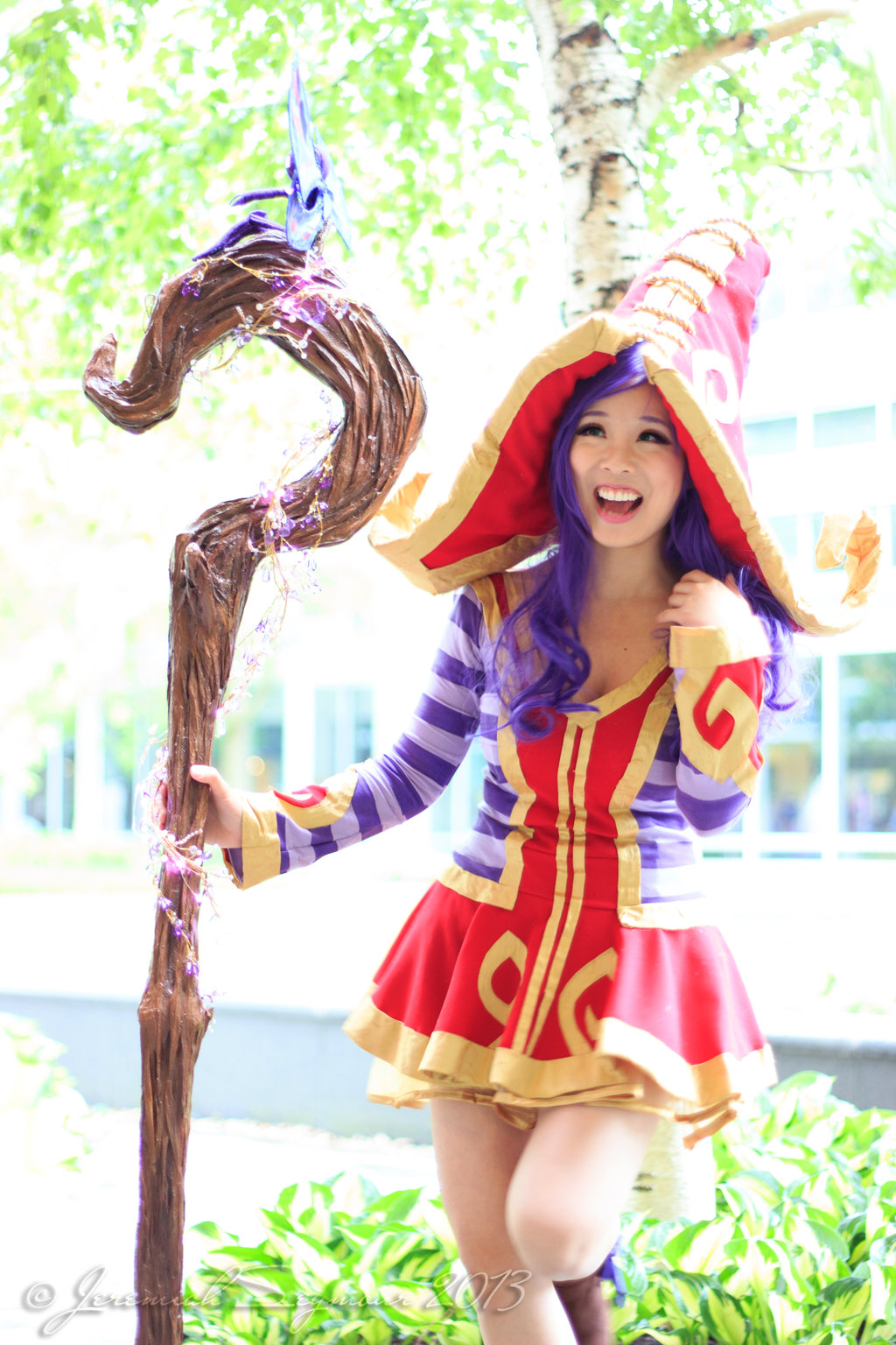 Lulu Cosplay Costume League Of Legend