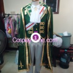 Baroque van Zieks from Dai Gyakuten Saiban Cosplay Costume front pog