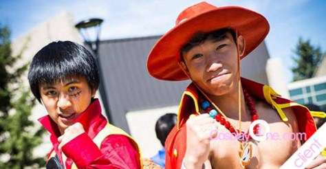 One Piece Cosplay Character Monkey D Luffy