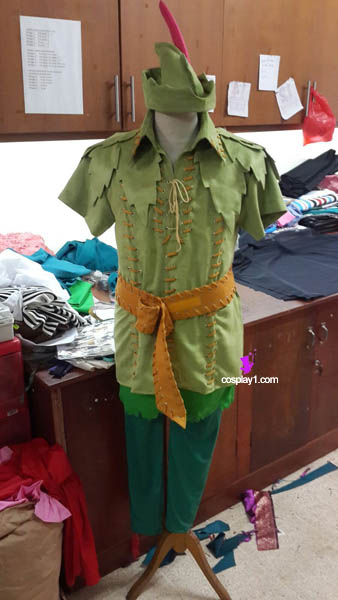 Peter Pan Behind The Scene of Making Cosplay