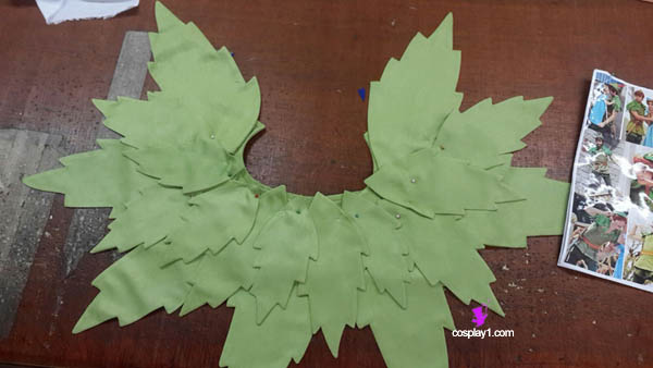 Peter Pan Cosplay Leaf